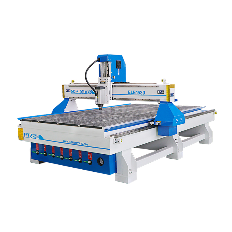 1530 3 Axis Cnc Woodworking Machines With 6kw Original Italy