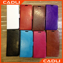 Free Sample Luxury Flip Genuine Leather Wallet Case for HTC One 2 M8
