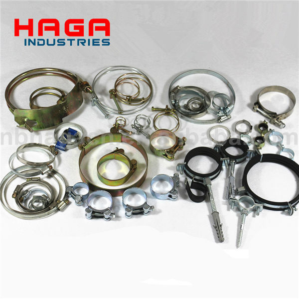 Stainless Steel European type hose clamp