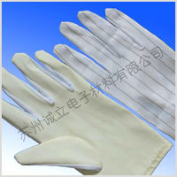 PU coated anti-static gloves for LED