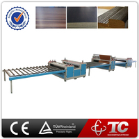 short cycle melamine thermal/hot press laminating machine for plastic plywood