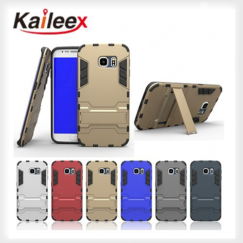 Quality Silicon And Plastic Cover For Samsung S6 Edge Case Hard Pc Case