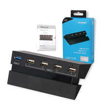DOBE factory wholesale new 5 in 1 USB HUB port for ps4 console/ps4 controller
