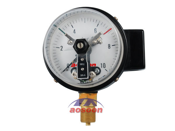 General electric contact pressure gauge Gaseous and liquid media
