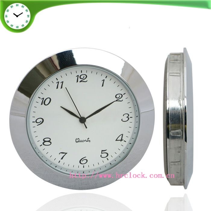 2 inches insert clocks 50mm insert watch