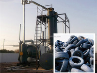 High oil extract rate 100% fuel oil plastic waste to oil plant with CE ISO