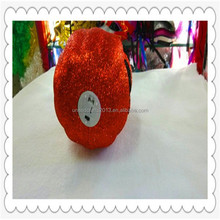 wholesale glitter crafts foam pumpkins 2015