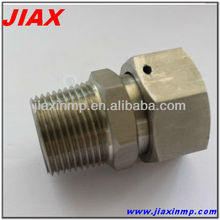 cnc machining stainless steel thread components for connector