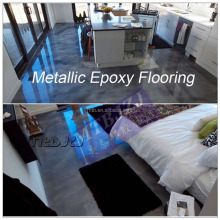 Metallic Self Leveling Epoxy Flooring for Concrete and Cement Floor