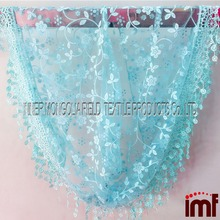 Beach Wear Triangle Neck Mantilla Scarf