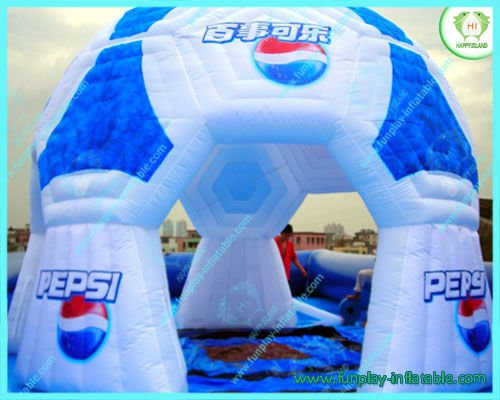 2012 Pepsi inflatable advertising tent