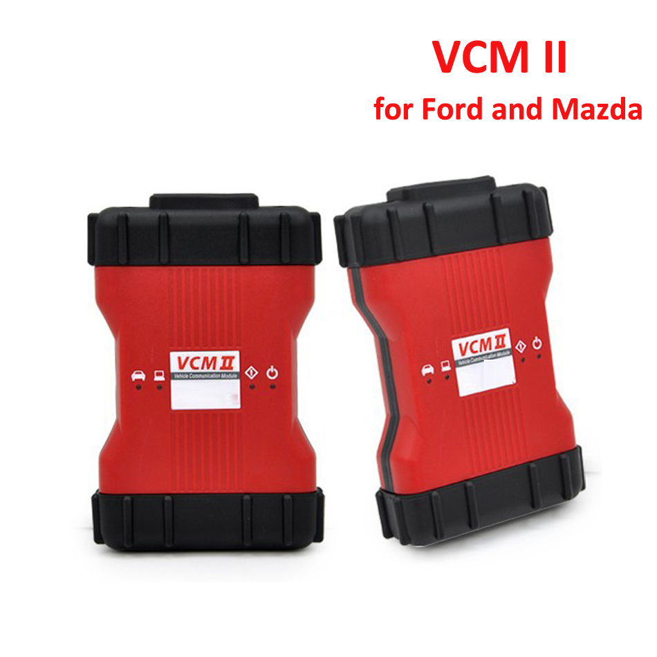 Professional For Ford VCM 2 Full Chip OBD2 Car Diagnostic Scanner VCM II For Ford / Mazda 1996-2015 VCM2 IDS V101 DHL Free Ship