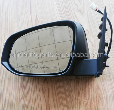 CAR MIRROR 87940-0K661 REARVIEW MIRROR FOR  TOYOTA  HILUX VIGO 2015 2016 2017 DOOR WING MIRROR 87910-0K661 WITH LED SIGNAL LAMP