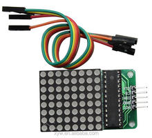 MAX7219 Dot LED Matrix Display Module SCM Control Module DIY Electronic Kit For Arduino