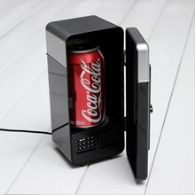 freezer Refrigerator Cans Cooler USB mini beverageusb usb fridge in usb gadgets