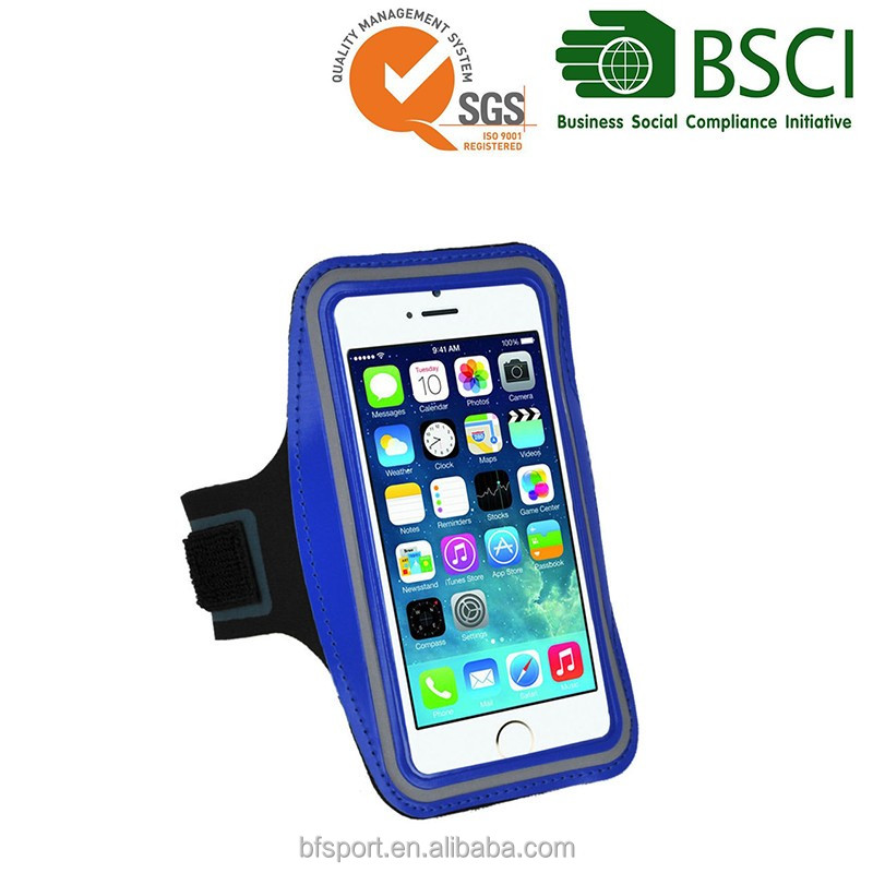 China manufacturer custom sports running armband case for cell phones