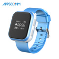 2017 APPSCOMM Smart Watch GPS Positioning Wristwatch Kids Safety Tracker with Phone Calling Function for Android or IOS