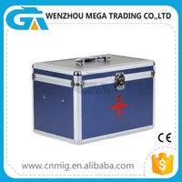 Functional Emergency Handle Aluminum Medision Storage Case for Wholesale