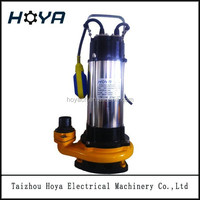 V1500F water pump powerful electric sewage water submersible pumps