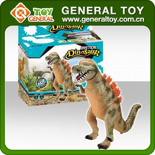 Electrical Plastic Dinosaur Toy Battery Operated Dinosaur Toys With Light Sound