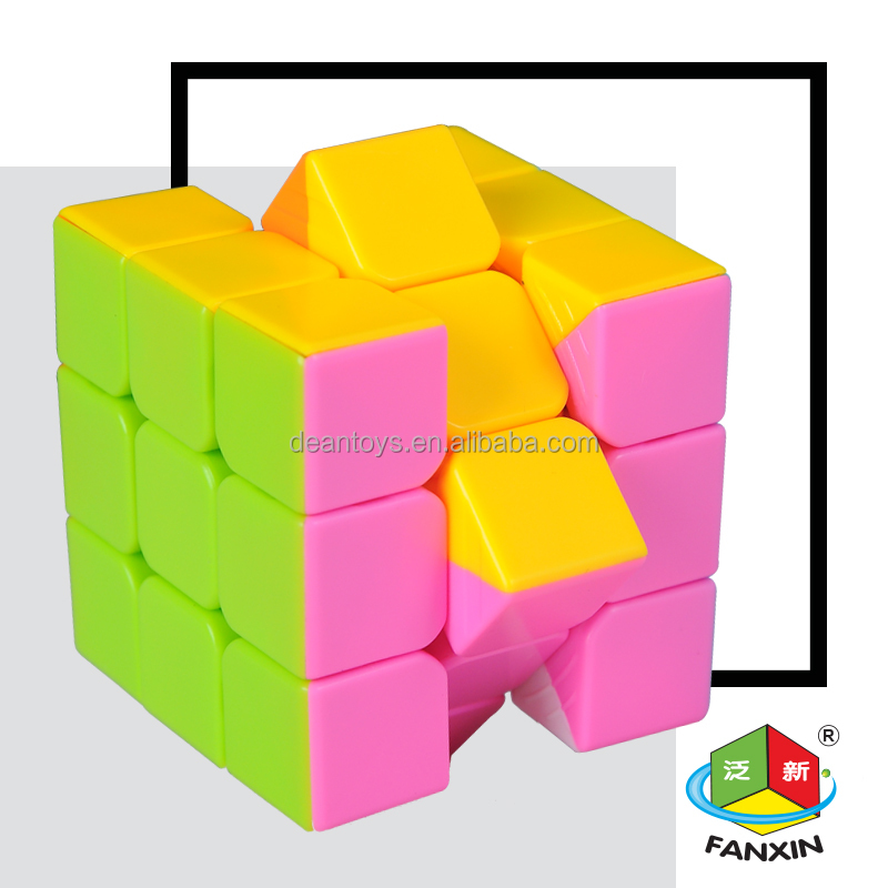 18 pieces/parcel!! Best seller! Candy Cube!! 3X3X3 magic cube(5.5CM) for all occasion OEM SUPPORTED