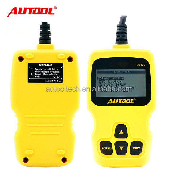 Wholesale Autool OL126 with battery power monitor best automotive obd2 diagnostic scanner for diesel engine