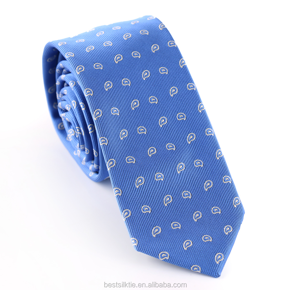 Pure Color 100% Woven Silk Men's Tie Custom High Quality