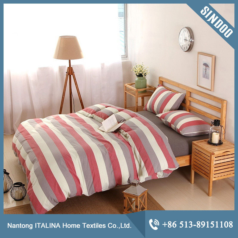 Home textile washed cotton bed linen wholesale online