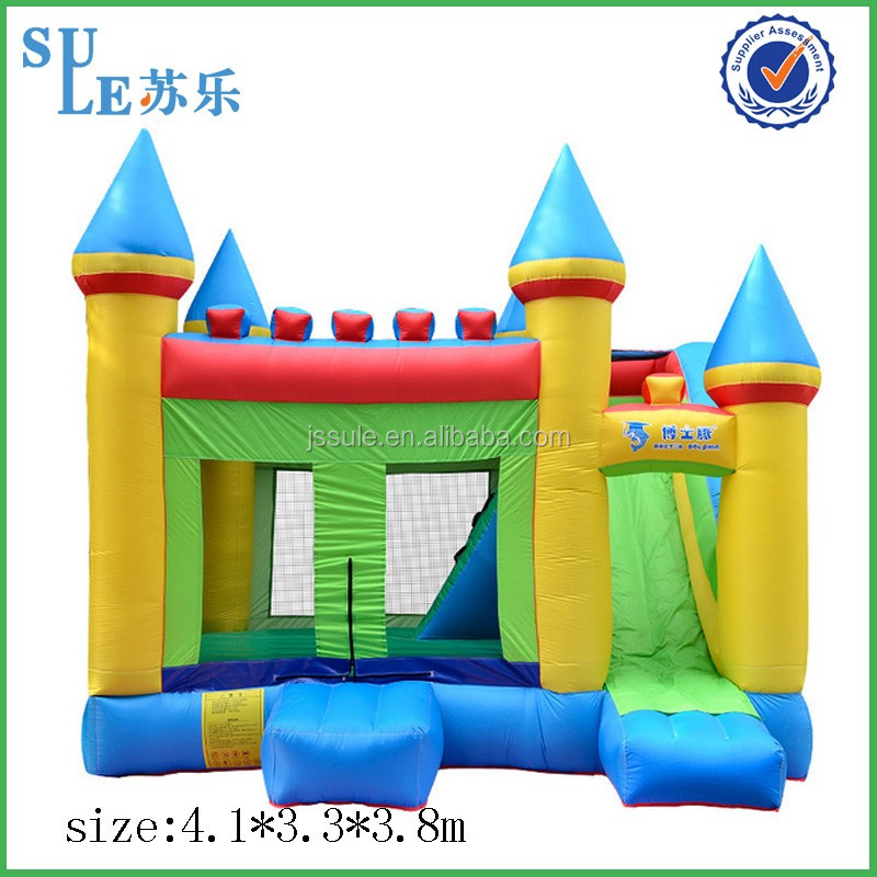 Factory giant inflatable stair slide toys adult inflatable water park inflatable air castle for shopping malls