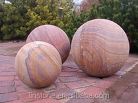decorative large stone ball stone sphere