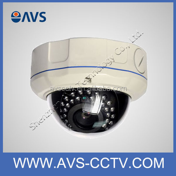 IR Digital Color CCD Video 720P Dome Network Camera