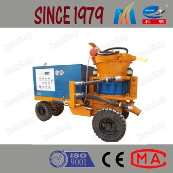 Tunnel Supporting Wet and Dry Shotcrete Machine Used Shotcrete Equipment for Sale