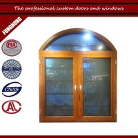 Safety grilll design with stainless steel mesh for aluminium arch window