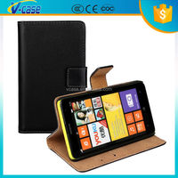 PU Leather flip wallet phone cover case cover for Nokia Lumia 625