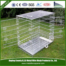 Large Dog Crate, strong stainless steel dog cage