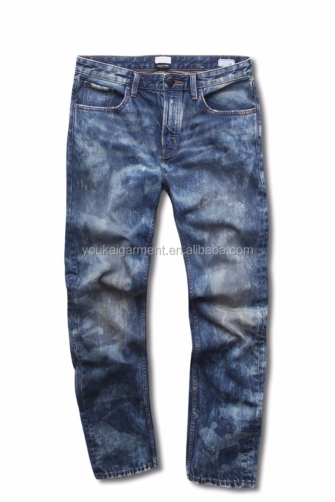 OEM wholesales price funky men top design camou low rise denim fashion custom skinny jeans