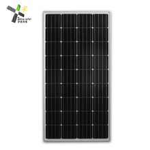 100w high efficiency semi/mini flexible solar panel price for car