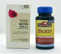 Biotin Tablets 7500 mcg Fast Dissolve 100-Count by Natural