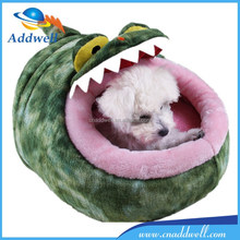 Lovely plush animal shaped pet bed dog bed