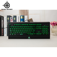 High Quality wired desktop mechanical backlit gaming keyboard rgb Manufacturer from China