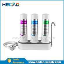 Sintered carbon filter Three Stage Water Purifier For Sale