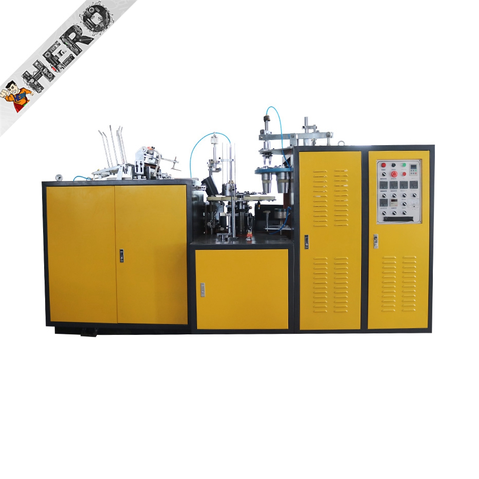 CE Standard High speed disposable paper cup making machine