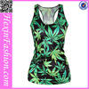 Wholesale marijuana gym stringer vest