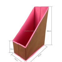 Different color storage fabric document folder