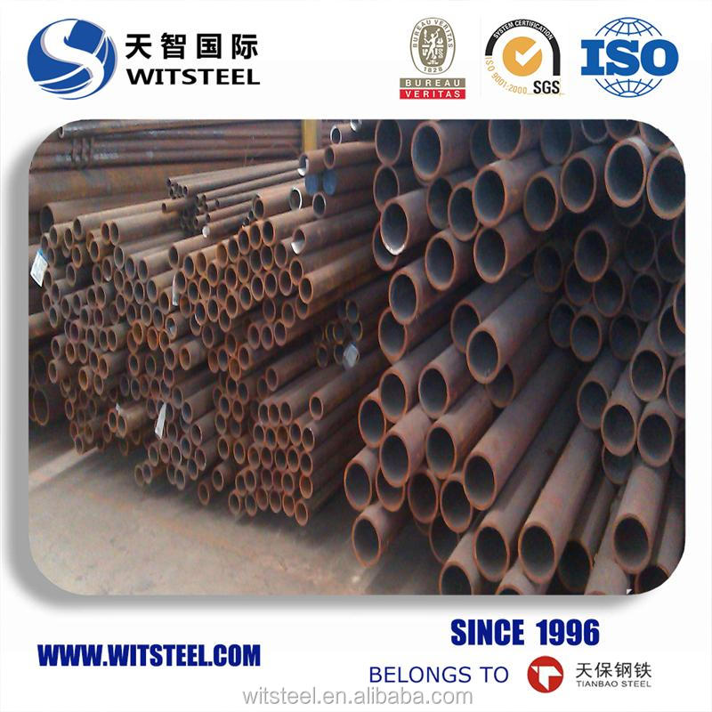 thin wall black tube 666 with low price