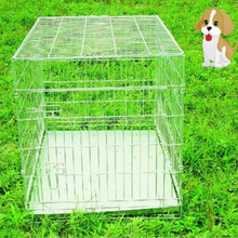 safty strong steel bar sloping wire pet kennel strong steel bar pet cage