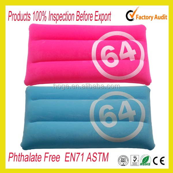 Promotional inflatable pillow / inflatable neck pilow