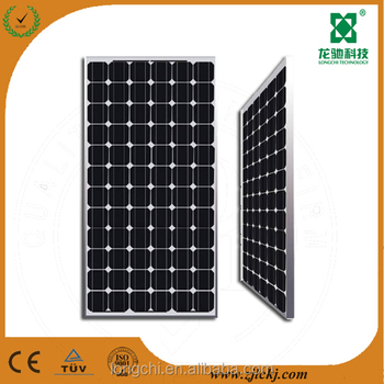 High quality 80W Monocrystalline Silicon solar Panel solar module in zhejiang China