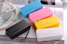 Hot Selling High Quality OEM portable super slim power bank 4000mah promotional USB travel charge power banks