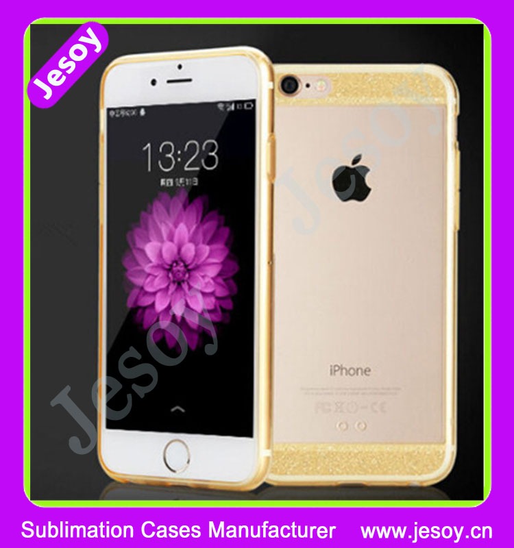 JESOY Hot Selling Beautiful Mobile Phone Case For iphone 5 5s 6 6s Transparent TPU 0.3mm Cases Cover